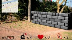 "AUGMENTED REALITY GAMING STEGREIFPROJEKT | Kooperation mit HS Pforzheim | Game-Konzept ""Bomberman"""