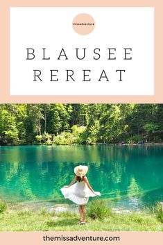 Blausee perfect for a getaway :) #iammissadventure #girltrip #blausee #switzerland
