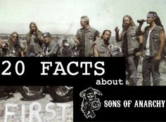 The much anticipated Sons of Anarchy premiere is here and everyone's excited. Here are 20 things you probably didn't know about the show.