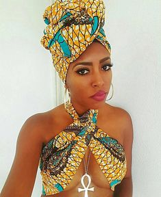 Beautiful African wax print fabric head wrap various prints measurements available.Width is available 10 inches and 20 inches.Scarf on models head is 72 x 20 - Scarf top is 72 x Head wrap scar. African Fashion Designers, African Men Fashion, African Fashion Dresses, African Beauty, African Outfits, African Style, African Fashion Traditional, Africa Fashion, Headband Men