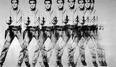 Eight Elvises (1963), painting by Andy Warhol, the leading figure in the visual art movement known as pop art. Sold for 100 million US dollars.