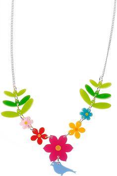 Flower Garden Necklace TATTY DEVINE
