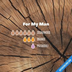 For My Man - Essential Oil Diffuser Blend