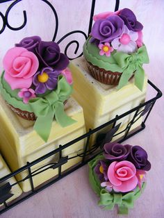 Beautifully decorated Cupcakes