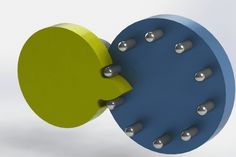 Geneva Pins - STEP / IGES,STL,SOLIDWORKS,Parasolid - 3D CAD model - GrabCAD