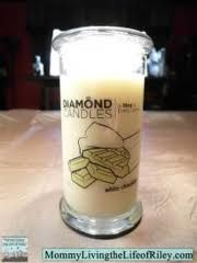 diamond candles - I wish they would ship to Canada!