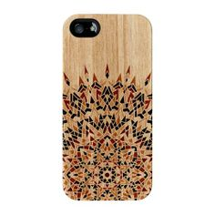 Mandala Geometric Pattern on Wood Texture Black 3D Full Wrap iPhone 5s Tough by UltraCases UltraCases,http://www.amazon.com/dp/B00GX8DGN6/ref=cm_sw_r_pi_dp_6-a4sb1NG46D62FP