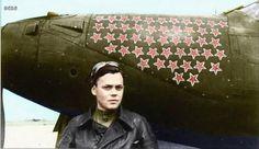 Лётчик - ас, Герой Советского Союза Речкалов Г.А., 1944: