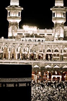 Makkah, Saudi Arabia - I have been here...it is a very holy place..a spiritual hush comes over all who come here.