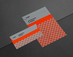 Bold colour choice, the grey just makes that orange pop! | Meijer by Mark Niemeijer, via Behance
