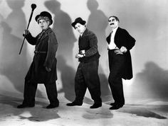 chico marx | The Marx Brothers, Harpo, Groucho and Chico, 1940's