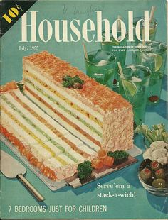 Stack-a-wich!   by Millie Motts, via Flickr My Great Aunt used to make a version of this
