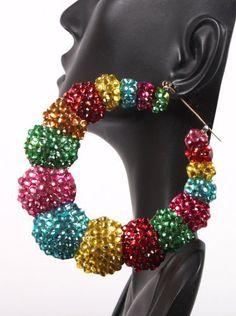 Basketball Wives Earrings Multicolor Shrimp Bamboo Style 3.25 Inch Drop Mob POParazzi JOTW, http://www.amazon.com/dp/B007Z1KVT2/ref=cm_sw_r_pi_dp_n1Ddqb1JTRRDZ