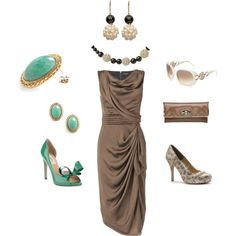 """Taupe....keeping it simple"" by pamela-barrett-williamson on Polyvore"