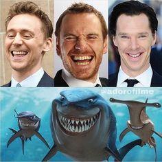 Funny, michael fassbender, and tom hiddleston image Memes Marvel, Dc Memes, Avengers Memes, Marvel Funny, Marvel Dc, Marvel Comics, Memes Humor, Comic Superheroes, Hulk Comic