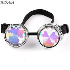 c2b2702195 Vintage Steampunk Goggles Glasses Welding Cyber Punk Gothic Cosplay  Beautiful Lenses Steampunk Goggles