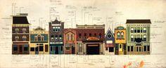 Disney Architecture ~ Main Street, USA