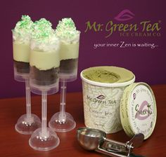 Paddy's Day push pops are a festive green dessert. Layers of green tea ice cream are paired with Irish cream soaked brownies and whipped cream. You can make this dessert in individual push pops or as a trifle. Ice Cream Festival, Ice Cream Companies, Green Desserts, Green Tea Ice Cream, Incredible Edibles, St Paddys Day, Irish Recipes, Irish Cream, Trifle