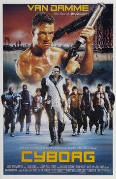 Cyborg (1989) movie #poster, #tshirt, #mousepad, #movieposters2