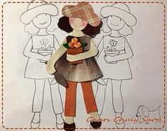 Dibujo Felt Embroidery, Felt Applique, Applique Quilts, Patchwork Quilting, Wool Applique Patterns, Applique Templates, Hand Embroidery Patterns, Quilting Projects, Quilting Designs