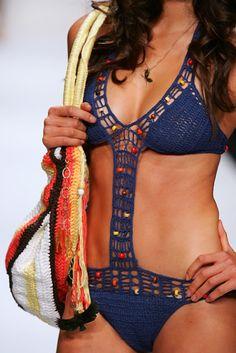 #crochet #swimwear                                                                                                                                                     Mais
