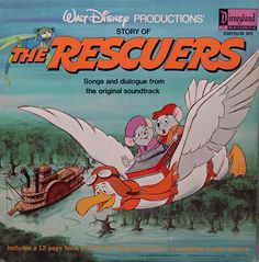 Rescuers Story of The  Walt Disney Productions' narrated