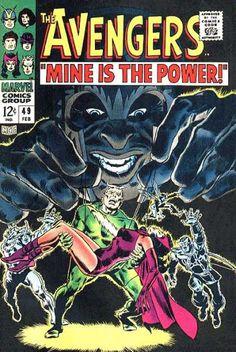 Avengers 49 - Mine Is The Power - Marvel Comics Group - 49 - February - The Flash - John Buscema