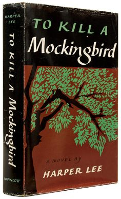 First edition of To Kill a Mockingbird by Harper lee (1960). I honestly love this book.