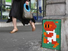 Invader. #spaceinvader http://www.widewalls.ch/artist/space-invader/