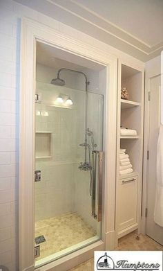 58 ideas for bathroom closet remodel small spaces Bathroom Windows, Bathroom Closet, Bathroom Storage, Towel Storage, Kitchen Storage, Wall Storage, Extra Storage, Closet Storage, Master Closet