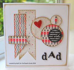I love London. Craftwork Cards, Men's Cards, Craft Work, Fathers Day, Cardmaking, Postcards, Layouts, Birthday Cards, Card Ideas