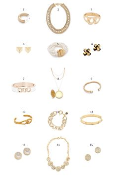 Design Darling: HOLIDAY JEWELRY FAVORITES