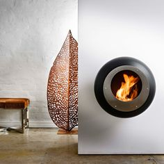Cocoon Fires  Sleek Fireplace Designs  Cocoon Fires produces a stunning range of fireplaces that are as functional as they are beautiful. Running on biofuel, these mod hearths require no installation, are environmentally friendly and radiate warmth, not smoke. And the ultra clean designs offer sharp lines and a distinctive look perfect for the modern home.