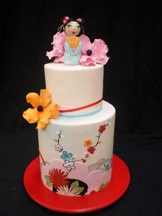 Japanese Garden cake