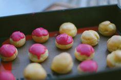 Whisk'd: Blackberry and Mango Cream Puffs (Pâte Choux)
