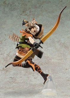 Dragon's Crown: Elf Archer Excellent Model Core 1/7 [Figure] by Megahouse
