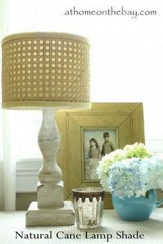 Make your own natural cane lamp shade for a fraction of the cost. It'… :: Hometalk
