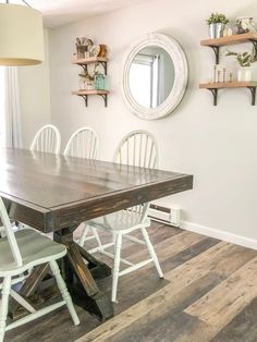 Raised Ranch Dining Room Makeover - Just Call Me Homegirl