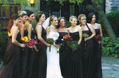 Photograph by: KingenSmith  |  Bridesmaids: Vera Wang
