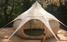 Air Beam Bud Glamping Tent   InsideHook