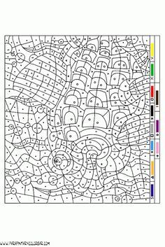 Coolest Color By Number Coloring Pages Ive Ever Seen You Know For
