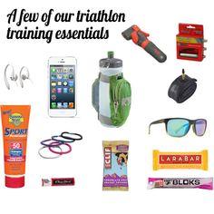 A few of our triathlon training essentials | TwoTri.com