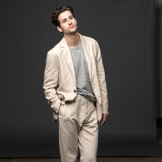 A great linen suit f