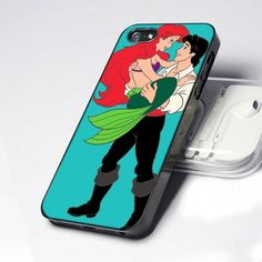 AA0009 Match Couple Ariel and Eric Mermaid design for iPhone 5 case