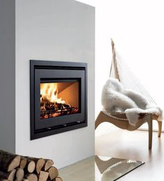 Westfire Uniq 32 Narrow Frame Inset Defra Approved Woodburning Stove