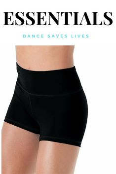 High wasted dance booty shorts.