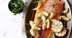 Cooking salmon is a breeze with this maple and balsamic recipe. Baking in the oven couldn't be easier - and there's enough to feed the whole party!