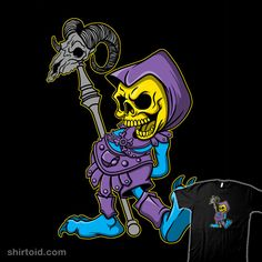 Classic Myaah #Skeletor #MastersoftheUniverse