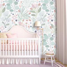 Dreaming In Pastels Wallpaper (Peel & Stick)