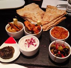 Chef's selection of six Mazeh